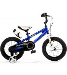 Двухколесный велосипед Royal Baby Freestyle Steel 4-8 лет RB16B-6 Синий