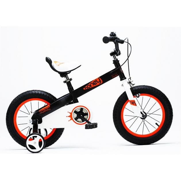 Детский велосипед Royal Baby Honey RB14-15 HONEY Черный