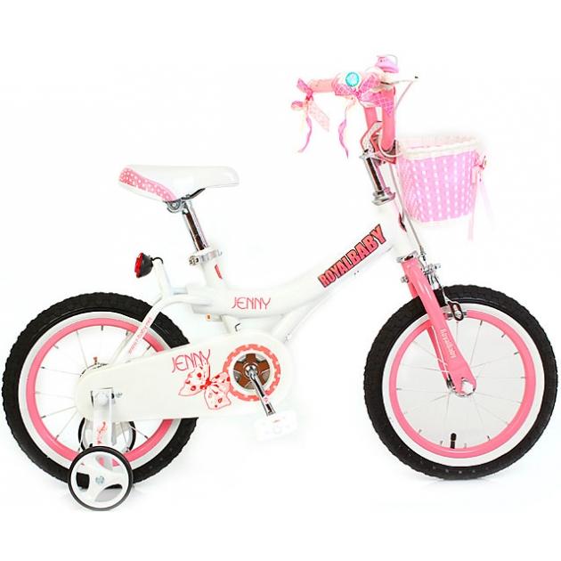 Двухколесный велосипед Royal Baby Princess Jenny Girl Steel 6-9 лет RB20G-4 Б/Розовый