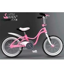 Двухколесный велосипед Royal Baby Little Swan Steel 3-5 лет RB14-18