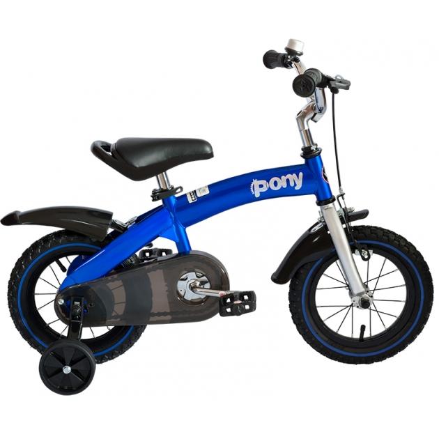 Двухколесный велосипед Royal Baby Pony RB12B-4 Синий