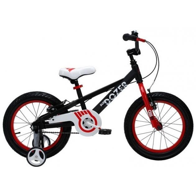 Двухколесный велосипед Royal Baby Bull Dozer 5-8 лет RB16-23 Черный