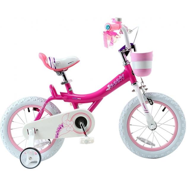 Двухколесный велосипед Royal Baby Bunny 4-6 лет RB14G-4 фукс