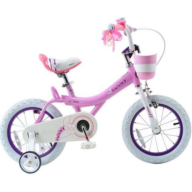 Двухколесный велосипед Royal Baby Bunny 6-9 лет RB18G-4 роз