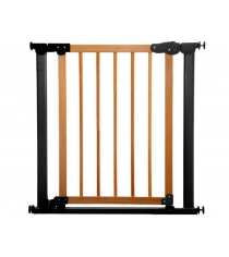 Ворота Safe and Care на распорках сосна черный 77-83.5 см 340-03
