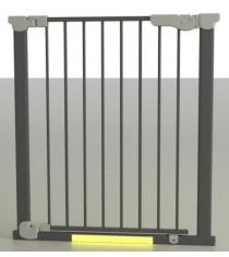 Ворота Safe and Care на распорках металл черный 73-80.5 см 401-03