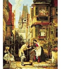 Раскраска по номерам Schipper Вечный жених Карл Шпицвег 9130293...