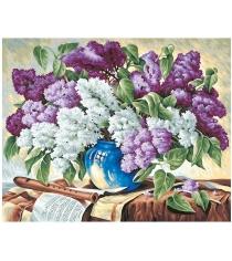 Раскраска по номерам Schipper Сирень в вазе 9130324