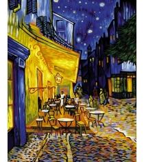 Раскраска по номерам Schipper Ночное кафе Ван Гог 9130359
