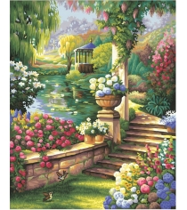 Раскраска по номерам Schipper Райский сад 9130379