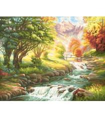 Раскраска по номерам Schipper Горная река 9130412
