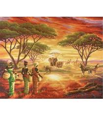 Раскраска по номерам Schipper Африка 9130426