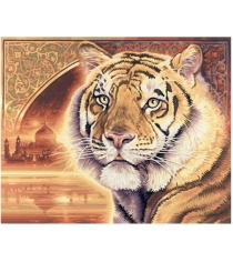 Раскраска по номерам Schipper Тигр 9130454