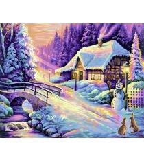 Раскраска по номерам Schipper Зима 9130504