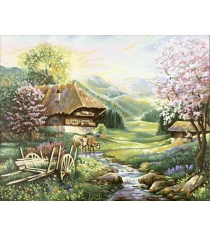 Раскраска по номерам Schipper Весна 9130505