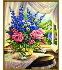 Раскраска по номерам Schipper Цветы на столе 9130601