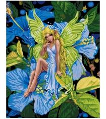Раскраска по номерам Schipper Цветочный эльф 9130647