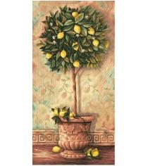Раскраска по номерам Schipper Лимонное дерево 9220397