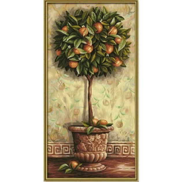 Раскраска по номерам Schipper Апельсиновое дерево 9220398 ...