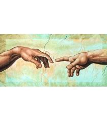 Раскраска по номерам Schipper Сотворение Адама Микеланджело Буонаротти 9220421