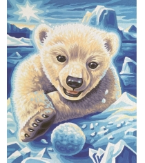 Раскраска по номерам Schipper Медвежонок 9240569