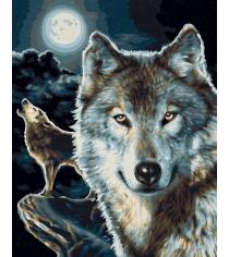 Раскраска по номерам Schipper Волки 9240660