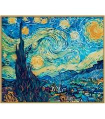 Раскраска по номерам Schipper Звездная ночь Ван Гог 9360606