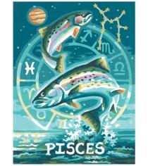 Раскраска по номерам Schipper Знаки Зодиака Рыбы 9390671...