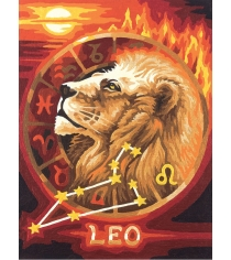 Раскраска по номерам Schipper Знаки Зодиака Лев 9390676...