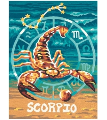 Раскраска по номерам Schipper Знаки Зодиака Скорпион 9390679...