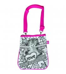 Детская сумка раскраска Color Me Mine Violetta Котенок и 4 маркера 6371194