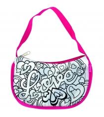 Детская минисумочка раскраска Color Me Mine Violetta Love и 4 маркера 6371185