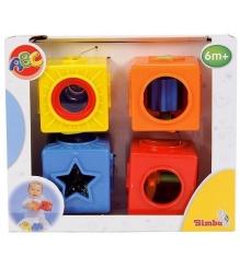 Развивающие кубики Simba 4013749