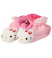 Пинетки погремушки Simba Hello Kitty Тапочки розовые 4014804