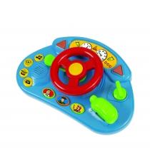 Игровой руль Simba ABC красный со звуковыми и световыми эффектами 4019627