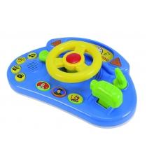 Руль Simba ABC желтый со звуковыми и световыми эффектами 4019627