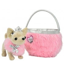 Мягкая игрушка Simba Чихуахуа Принцесса с сумочкой Chi Chi Love 5890618