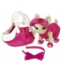 Собачка Chi Chi Love Чихуахуа в розовом платье и сумочке 5894229...