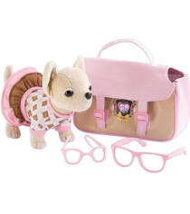 Плюшевая собачка Chi Chi Love с сумкой и очками 5894837...