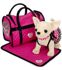 Мягкая игрушка Simba Розовая мечта в платье с пледом и сумкой Chi Chi Love 5899700