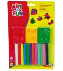 Пластилин с аксессуарами 12 цветов Simba 6320641