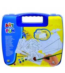 Набор для творчества Simba Art Fun в синем чемоданчике 6330639...