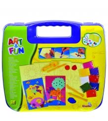 Набор для творчества Simba Art Fun в фиолетовом чемоданчике 6330639...