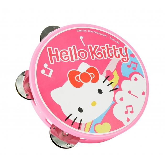 Детский бубен Simba Hello Kitty Тамбурин 6835488