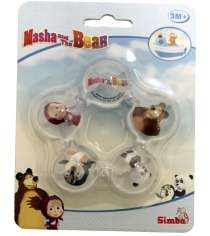 Прорезыватель для зубок Simba Маша и Медведь водяной 9300716
