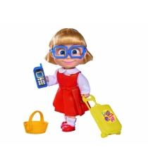 Кукла Даша с чемоданчиком корзинкой и телефоном 9301013