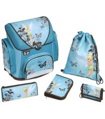 Рюкзак для девочки Scooli Fairies, 5 позиий FA13825