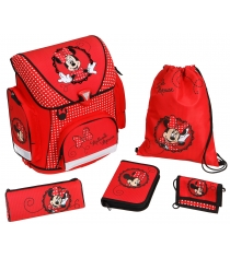 Рюкзак для девочки Scooli Minnie Mouse, 5 позиий MI13825