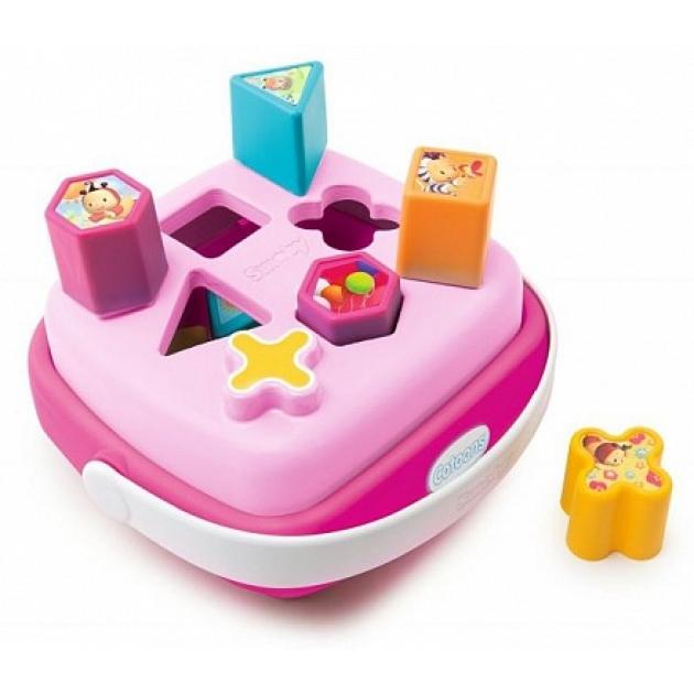 Сортер корзинка Smoby cotoons розовый 110411