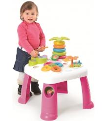 Игровой развивающий центр Smoby Cotoons столик розовый 211067...